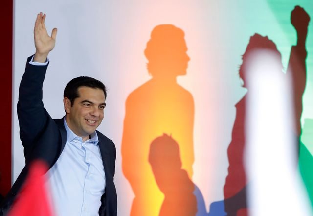 Alexis Tsipras, le leader du parti Syriza