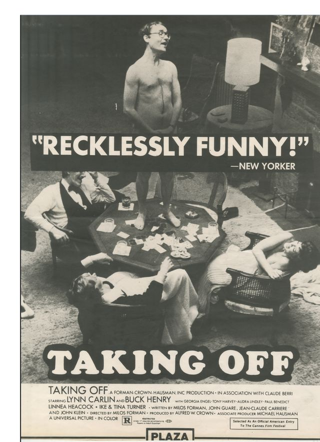 """Affiche de """"Taking Off"""""""