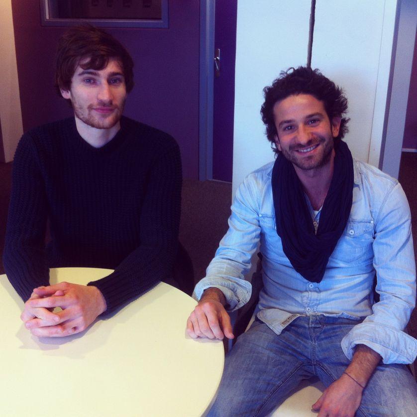 François-Henri Désérable et Miguel Bonnefoy
