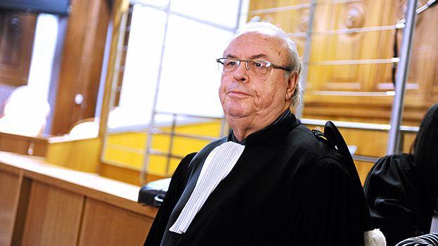 Jean-Pierre Cabanes, avocat de Nicolas Blondiau lors du procès en décembre 2013.