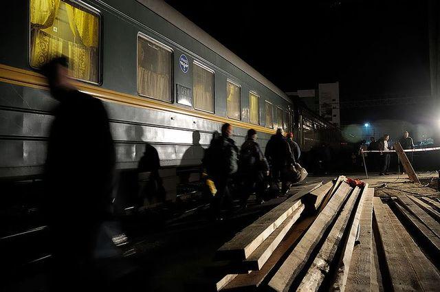 Arrêt de nuit à Novosibirsk dans le Transsibérien