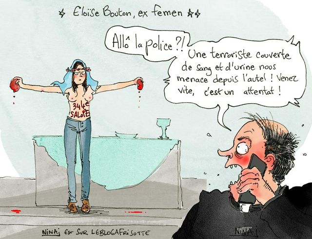 Nina Luec Femen