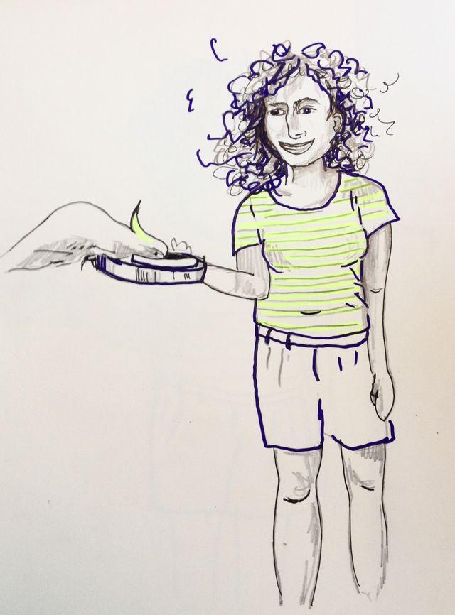 Autoportrait avec perroquet