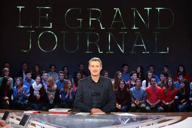 Antoine de Caunes à la tête du Grand Journal depuis septembre 2013