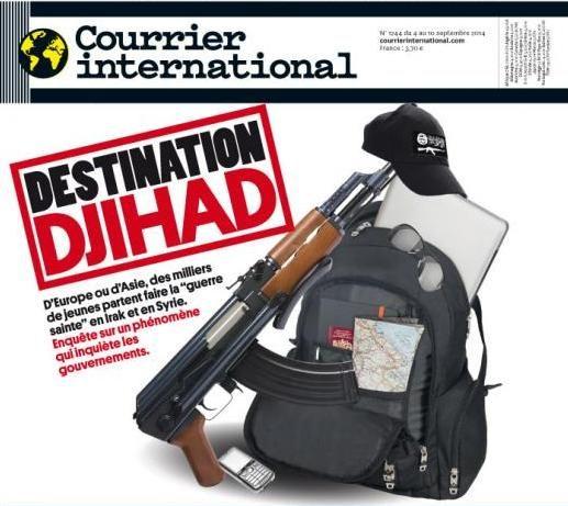 Destination Djihad, Courrier International, n° 1244 du 4 sept. 2014