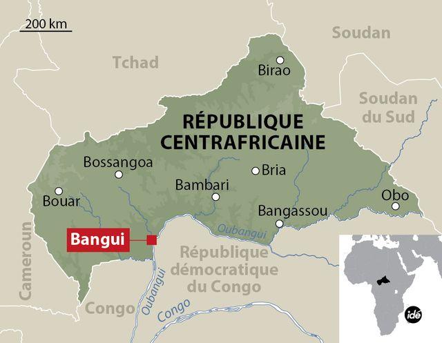 Une humanitaire française enlevée à Bangui