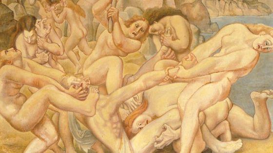 Louis-Bouquet – La mort d'Orphée -1925 -1939