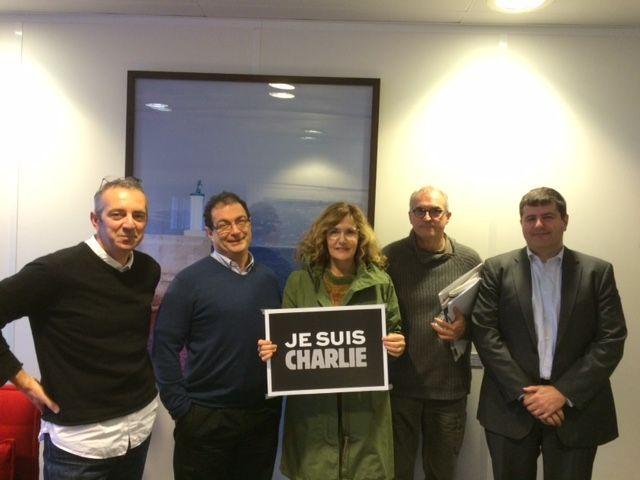 Frédéric Barreyre, Olivier Ranson, Isabelle Veyrat-Masson, Alain Le Gouguec, Fabrice Lorvo