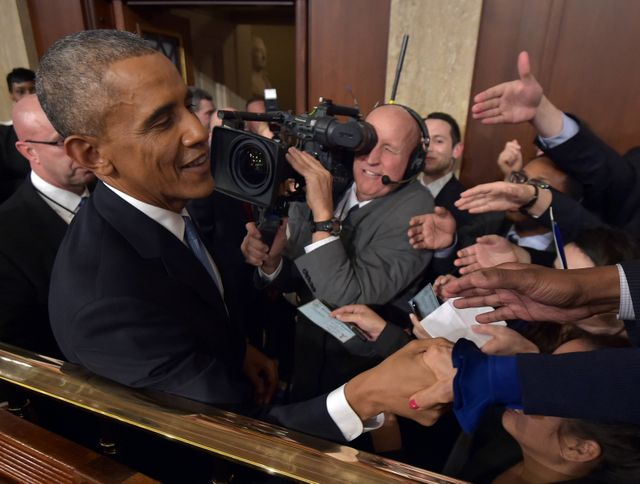 Barack Obama face au Congrès