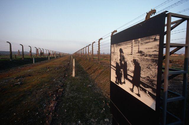 Le crématoire d'Auschwitz