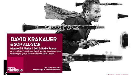 David Krakauer © Radio France