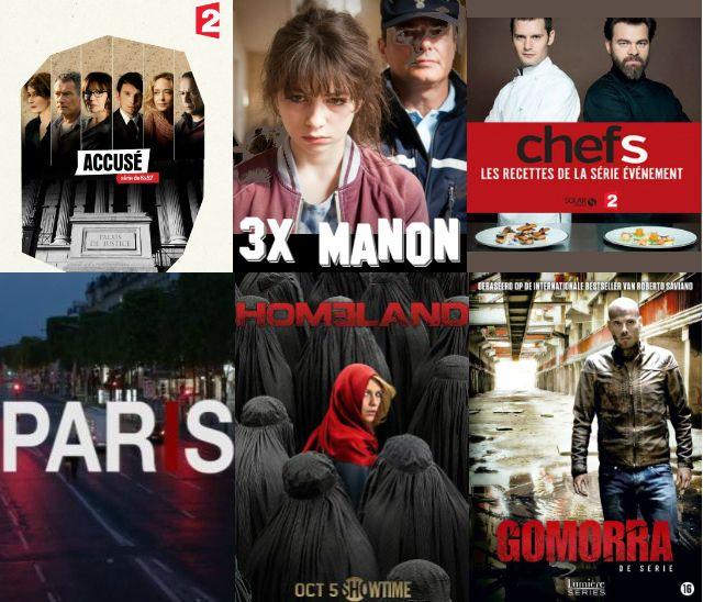 sélection séries TV
