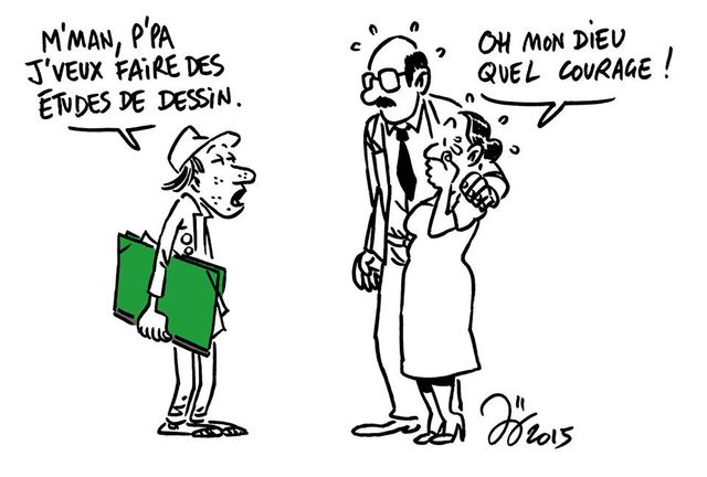 """Extrait de l'édition lyonnaise de """"Charlie Héros"""", 10 janvier 2015."""