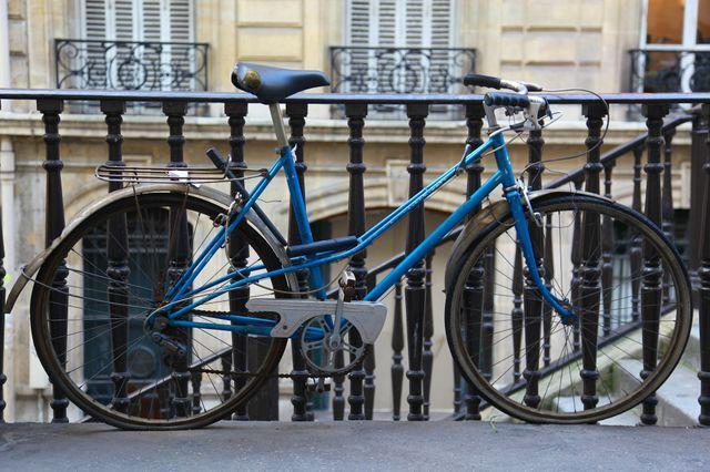 Une bicyclette parisienne