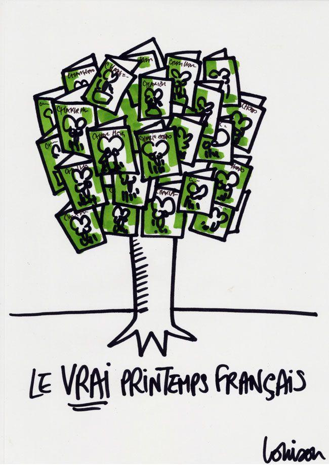 Le vrai Printemps français