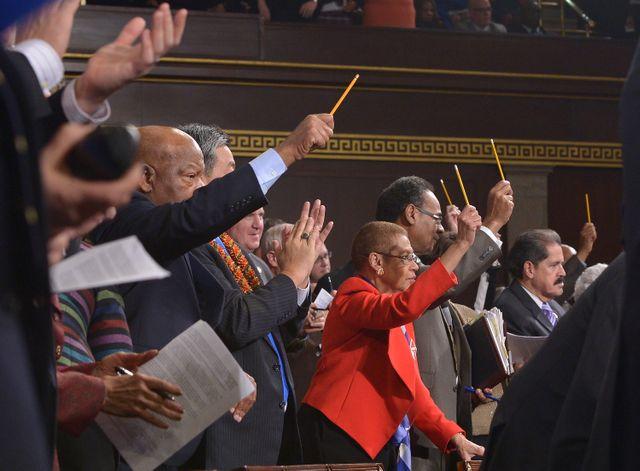 Les députés américains ont rendu hommage aux morts de Charlie Hebdo