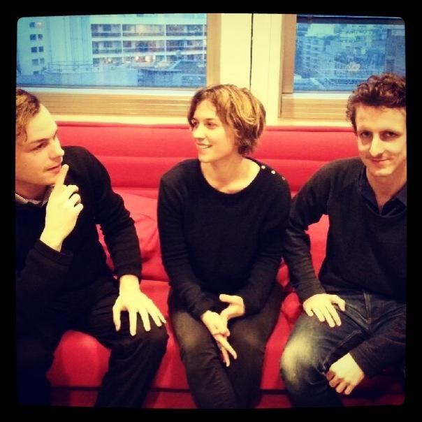 Hadrien Bouvier, Maëlle Poésy et Emilien Diard-Detoeuf
