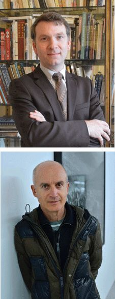 Eric Lefebvre et Ange Leccia