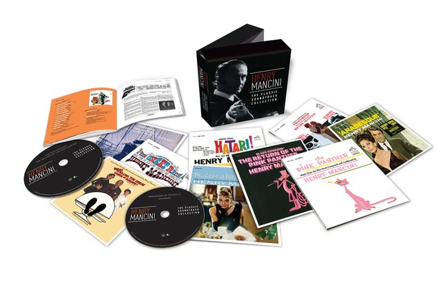 Henry Mancini - The Classic Soundtrack Collection - Visuel Coffret