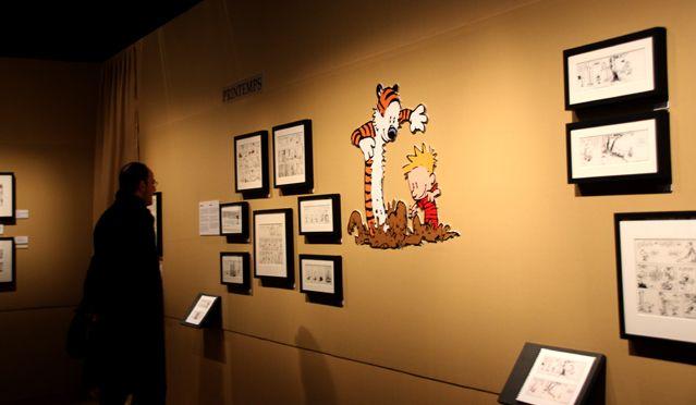Dans l'exposition A la recherche de Calvin and Hobbes FIBD 2015 - 3