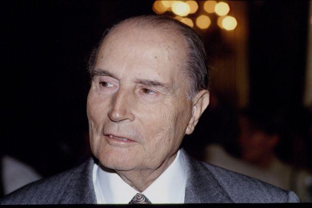 François Mitterand - portrait