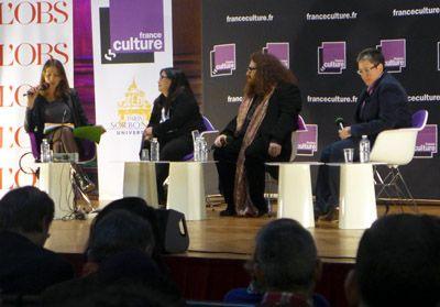 Adèle Van Reeth, Sandra Laugier, Pacôme Thiellement et Monica Michlin