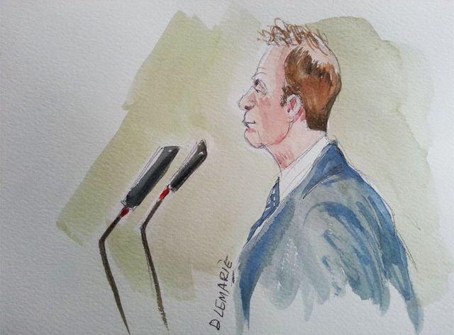 François-Marie Banier, pendant le procès Bettencourt
