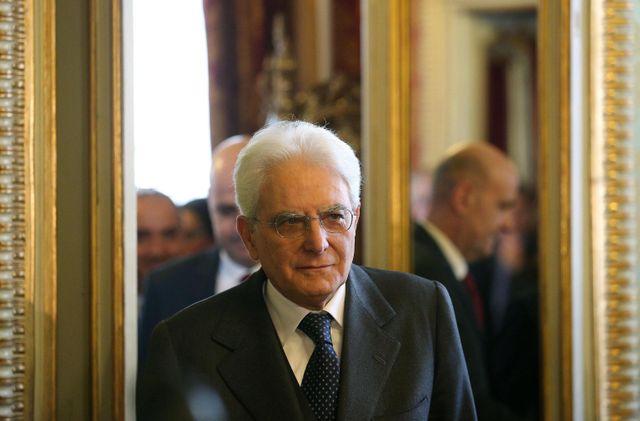 Sergio Mattarella, élu à la présidence de la République italienne