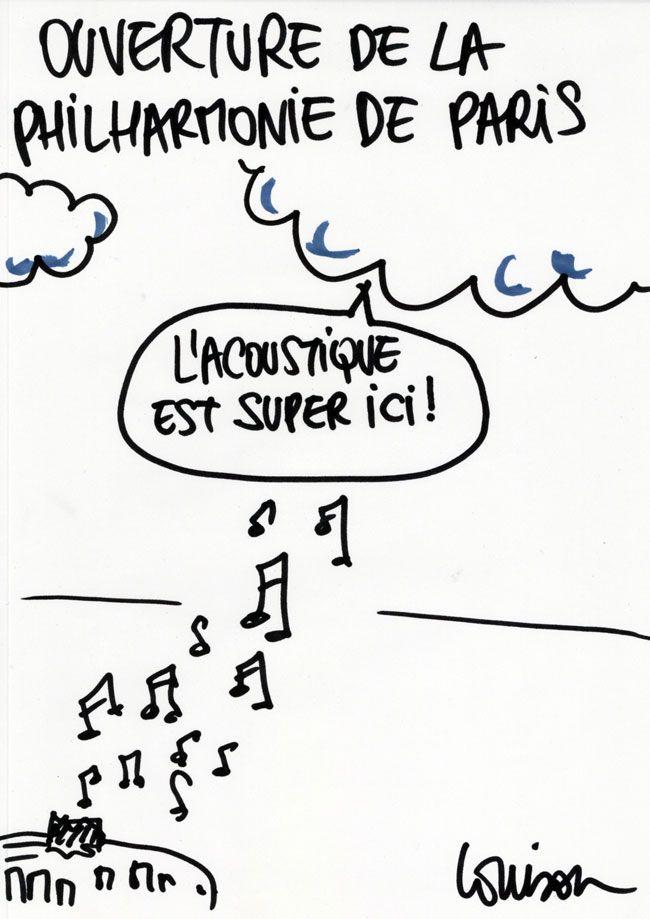 Charlie écoute la Philharmonie de Paris