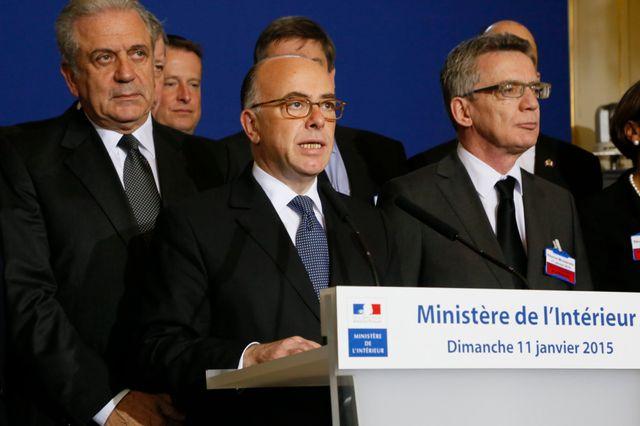 Conseil interministeriel de crise apres les attentas terroriste place Beauvau