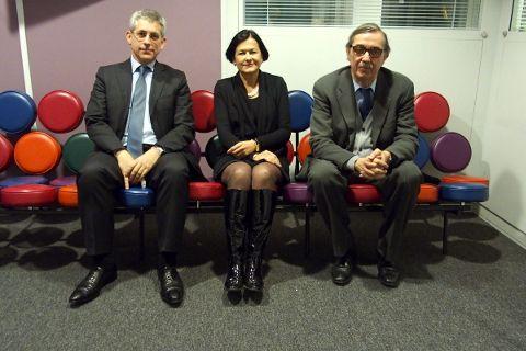 Frédéric Valletoux, Elisabeth Tomé-Gertheinrichs et Claude Le Pen