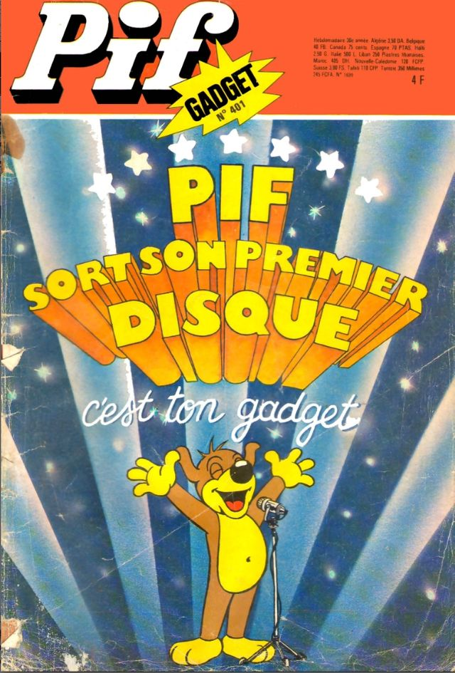 Couverture de Pif Gadget