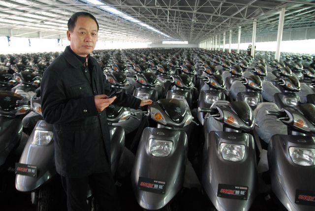 Chine au travail