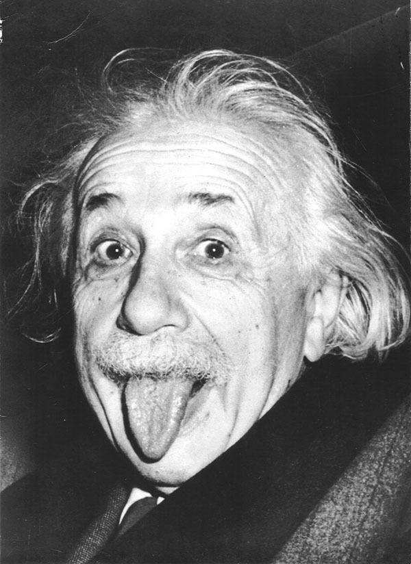 einstein langue