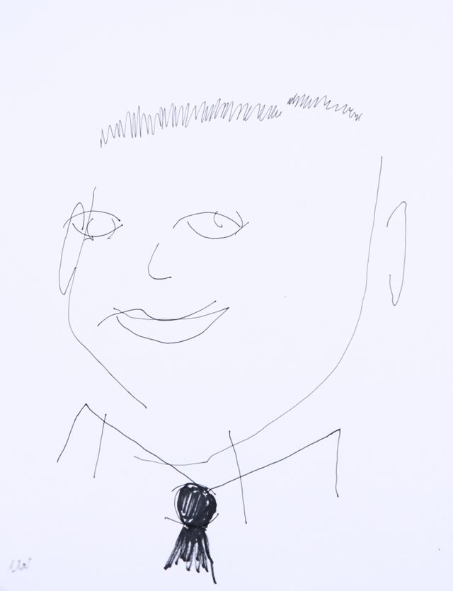 L'autoportrait de Romain