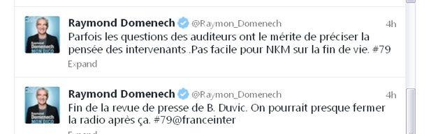 Twitt Raymond Domenech