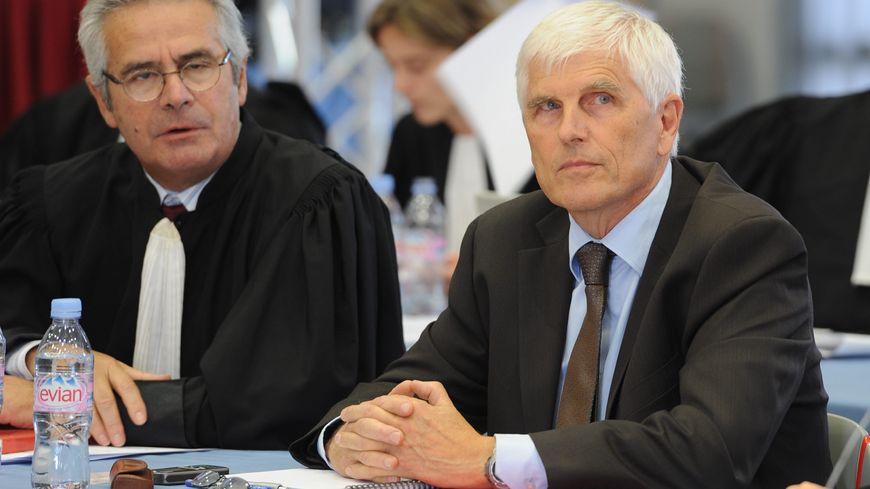 L'ancien directeur de l'usine AZF, Serge Biechlin, lors du deuxième procès en 2012
