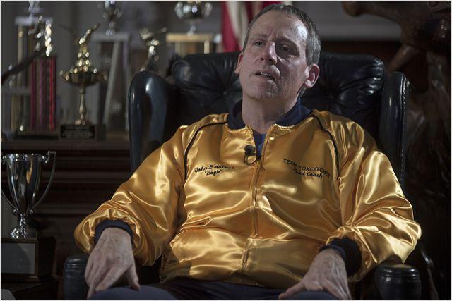 """Steve Carell dans le rôle de John du Pont dans """"Foxcatcher"""""""