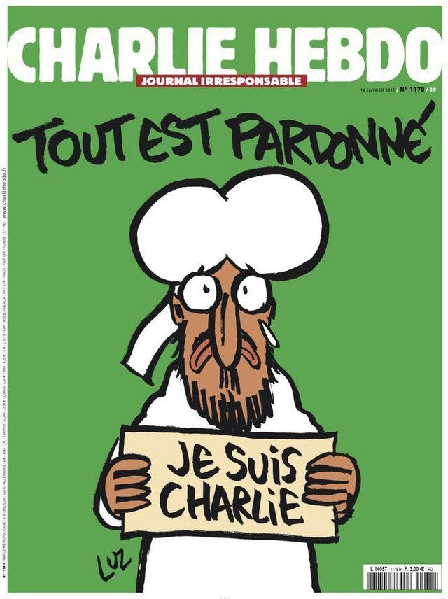 Une de Charlie Hebdo, édition du 14 janvier 2015