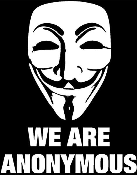 "We are Anonymous // Nous sommes les ""Anonymous"""