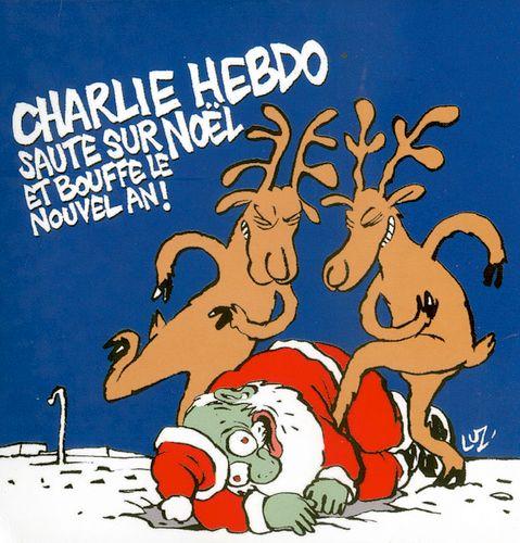 Charlie saute sur Noël et bouffe le Nouvel An