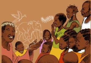 La transmission par le conte en Afrique