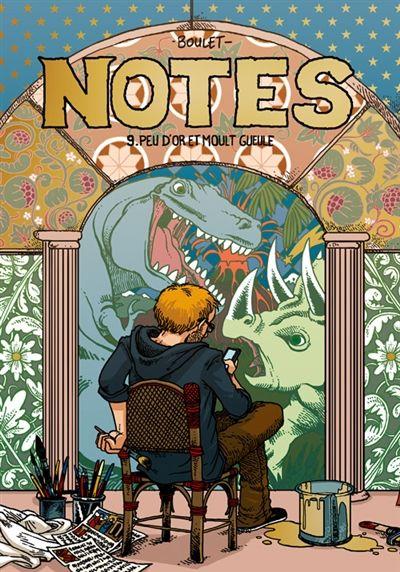 Notes, vol. 9 de Boulet