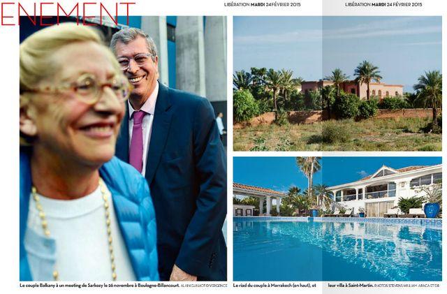 Extrait du numéro de Libération du 24 février 2015