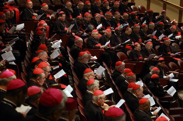 Evêques et Cardinaux au Consistoire de février 2015