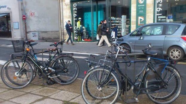 Vélos à Tours