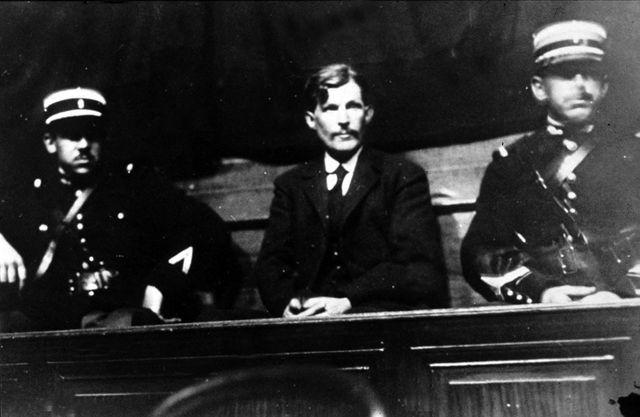 Guillaume Seznec au Tribunal, lors de son jugement