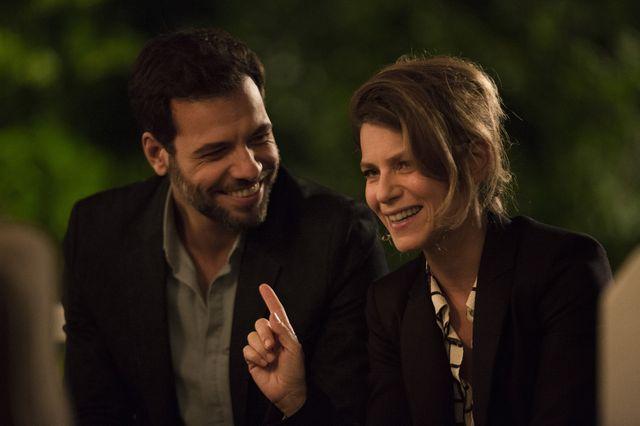 """Laurent Lafitte, Marina Foïs, dans le film """"Papa ou maman"""""""