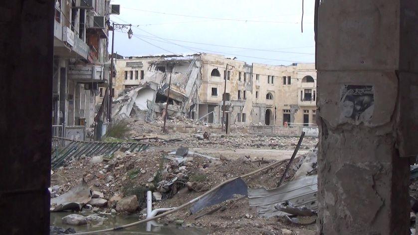 Destruction à Alep