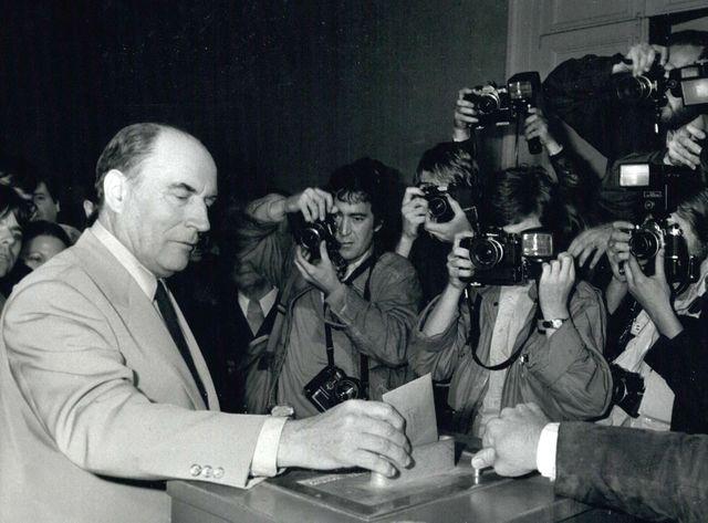 François Mitterrand le 11 mai 1981